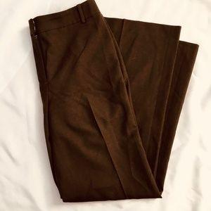 Ann Taylor Women's Brown Slacks Size 8